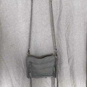 Rebecca Minkoff leather mini MAC cross body bag